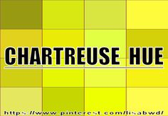 CHARTREUSE HUE