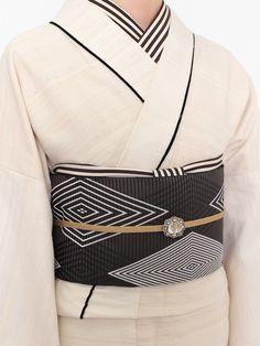 カディ織 シルクコットン着物 | DOUBLE MAISON