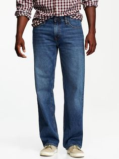 Men's Loose-Fit Jeans Product Image