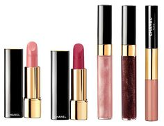 Chanel Rouge Noir Absolument Makeup Collection for Christmas 2015 lips
