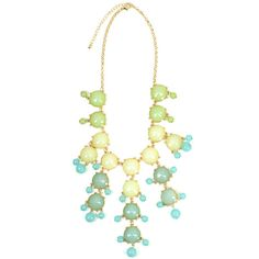 Ombre Mint Bauble Necklace [10075791] - $20.00 : HandPicked | Monogram... (1.320 RUB) ❤ liked on Polyvore featuring jewelry, necklaces, accessories, ombre, pastel, sterling silver necklace, mint green necklace, mint green jewelry, embroidery jewelry and bauble jewelry