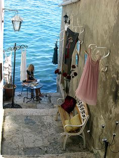 WHERE ARE YOU GOING THIS SUMMER? Seaside, Rovinj, Croatia photo via sasha