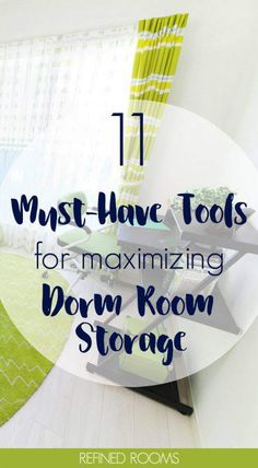 11 Organizing Tools for Maximizing Dorm Room Storage Off to college? Dorm rooms are typically TINY. Get these MUST HAVE organization tools for maximizing dorm room storage! Dorm Room Storage, Dorm Room Organization, Small Space Organization, Craft Organization, Storage Spaces, Organizing Tools, Little Corner, College Dorm Rooms, College Life