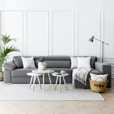 Dolmen sofá Ikea Living Room, Living Room White, Living Spaces, Dining Rooms, Sofa Gris, Best Ikea, Home Furnishings, Furniture, Home Decor