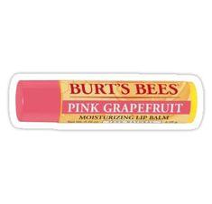 pink grapefruit burt's bees chapstick Sticker - pink grapefruit burt's bees chapstick Sticker - Macbook Stickers, Phone Stickers, Cool Stickers, Printable Stickers, Wallpaper Stickers, Preppy Stickers, Red Bubble Stickers, Homemade Stickers, Notebook Stickers