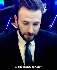 I COULD DO THIS ALL DAY - Stucky - Chris Evans - captain of the ship!