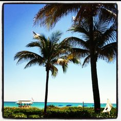 Miami Beach, beautiful day at the beach