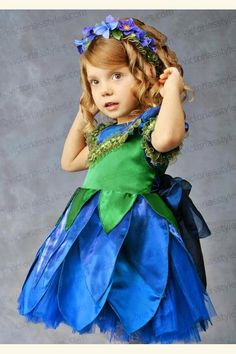 Children Fancy Carnival Costume Violet, Hyacinth 3314