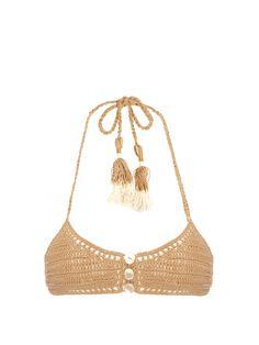 crochet Savarna triângulo superior do biquini | Ela me fez | MATCHESFASHION.COM