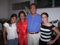 La familia de Lolo Morales en 2005