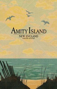Amity Island Vacation Poster  11 x 17 inches  by MattPepplerArt, $20.00
