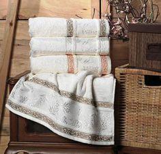 Полотенце Arya Dal, 50x90, Кремовый. Покупайте в интернет магазине Almadom.ru