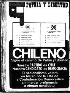 La matriz antiliberal en las derechas radicales: el caso del Frente Nacional Patria y Libertad en Chile (1971-1973) Chile, Empanadas, Munich, Warfare, Salvador, Liberalism, Armed Forces, Military History, Bass Guitars