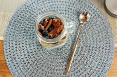 healthy vegan breakfast ideas - overnight oats