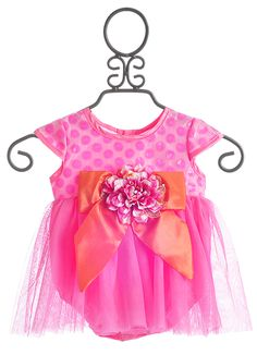 Haute Baby Fancy Baby Dress April Bloom $49.50