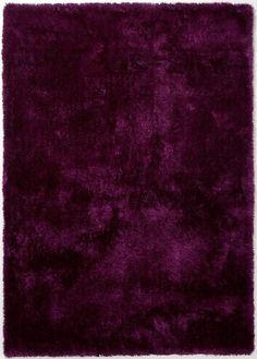 Carpet Eggplant - Purple - 140 x 200 cm, Colourcourt - Home Decorations Eggplant Purple, Classic Chic, Shag Rug, Modern, Carpet, Shops, Home Decor, Plum, Decorations