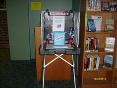Vote For Your Favorite Author/Book. Election Display. November 2012