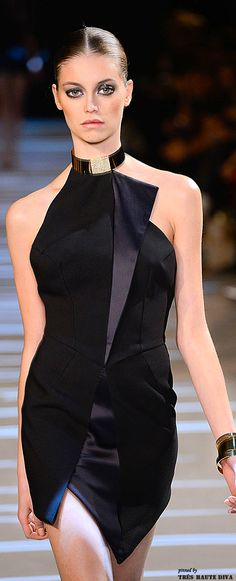 Black dress - Alexandre Vauthier Autumn/Winter 2013-14