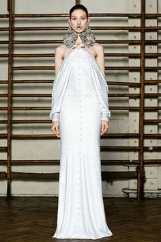 Givenchy S/S 2012 Couture ... check out the septum jewelry!