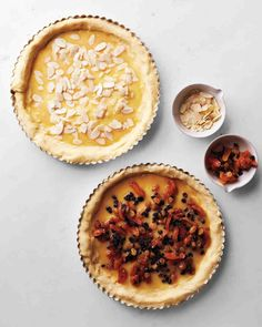 Stollen Fruit Tart or Almond Tart Recipe