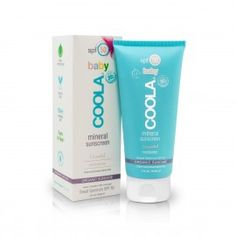 EWG's Skin Deep® Cosmetics Database Rating for COOLA Suncare Baby Moisturizer Mineral Sunscreen, Unscented, SPF 50 Formulation). Coola Sunscreen, Sunscreen Spf 50, Natural Sunscreen, Organic Avocado Oil, Organic Coconut Oil, Theobroma Cacao, Coco Nucifera, Body Lotions, Kakao