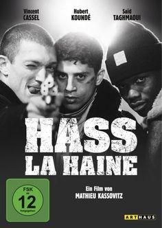 Hass - La Haine: Amazon.de: Vincent Cassel, Hubert Koundé, Saïd Taghmaoui, Mathieu Kassovitz: Filme & TV