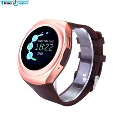 TimeOwner Clock Smart Watch Android Phone Touch Smartwatches Wristwatch Smartwatch for Android iPhone Xiaomi Smartphone Watches