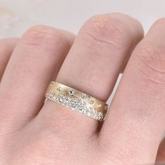 Diamond Bands, Diamond Wedding Bands, Gold Bands, Bohemian Wedding Rings, Rose Gold Brushes, Bezel Set Ring, Or Rose, Ring Designs, Fashion Jewelry