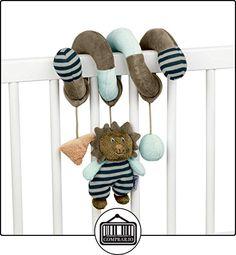 Sterntaler 6611623-Juguete espiral Leo, marrón/turquesa/Mint/gris  ✿ Regalos para recién nacidos - Bebes ✿ ▬► Ver oferta: http://comprar.io/goto/B01B62M72Y