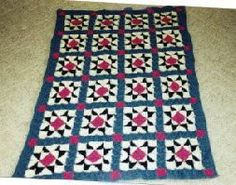 This evening star block afghan is a great free #crochet pattern to work up. Follow the pattern and make your own.