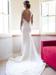 Wedding dress ideas: #Bride wears Leah da Gloria bespoke gown. #bride #groom #wedding #weddingdress