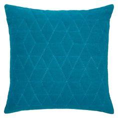 Buy John Lewis Hex Cushion, Teal Online at johnlewis.com