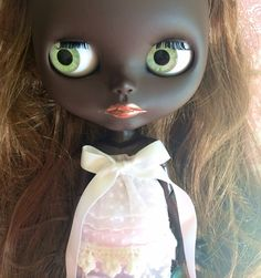 Custom Black Blythe Doll OOAK named Teddy by EmmyB.lythe on Etsy