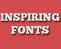Great collection of beautiful and inspiring fonts by wed designer depot. Love 'em all!