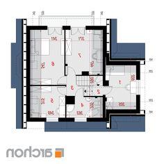 Дом в тамарисках - Проект ARCHON+ Floor Plans, How To Plan, Floor Plan Drawing, House Floor Plans