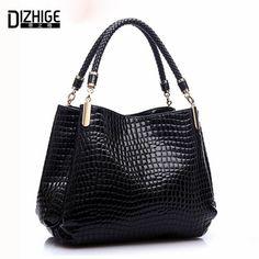 Famous Designer Brand Bags Women Leather Handbags 2017 Luxury Ladies Hand Bags Purse Fashion Shoulder Bags Bolsa Sac Crocodile