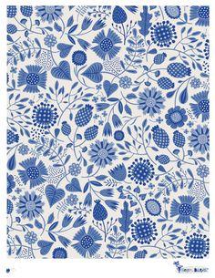 Porcelain Dream - pattern by helen dardik