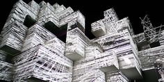 Amon Tobin's live show... which is basically a giant moving installation piece.