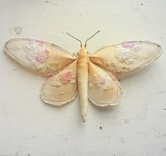 Mister Finch - Vintage fabric moth