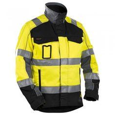 """Warnschutzjacke """"4051"""" HIGH-VIS Kl. 2 - BLAKLÄDER® #Blåkläder #warnschutzjacke #warnschutzkleidung #arbeitsjacke #warnschutz"""