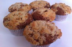 Muffins de plátano y Ambrosías Tirma