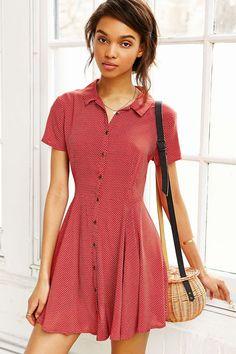 Cute summer dress that would work well as a beach coverup.