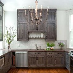 Gel Stain Kitchen Cabinets Before And After Black