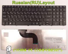 Laptop Keyboard for Acer Aspire PK130C93A00 MP-09B23U4-6983 MP-09B26GB-4421 PK130C87A07 RU Russian Version