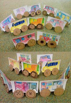Galerie nápadů, tvoření pro děti v mš Montessori, Art For Kids, Ulice, Art For Toddlers, Art Kids