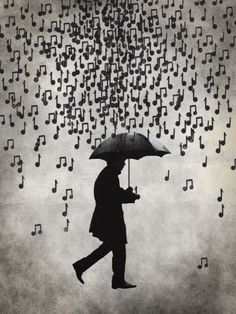 """Singing in the rain, just singing in the rain...What a glorious feeling, I'm…"