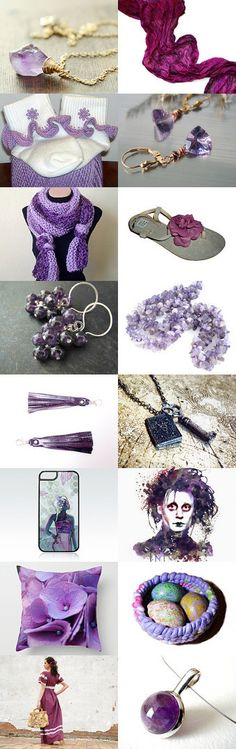 Purple by Laura P. on Etsy--Pinned with TreasuryPin.com
