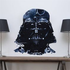 Darth Vader Wall Mural Decal - Star Wars Wall Decal Murals - Primedecals