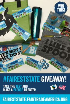 Want to win ALL these Ben & Jerry's goodies? Take the Fairness Test to enter our giveaway!