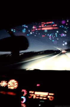 Night driving... I love everything more at night